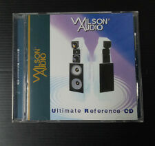 Ultimate Reference by Wilson Audio CD, Audiophile Must Have. Ultra Rare.