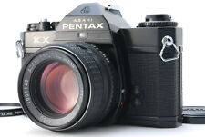 *EXC+++++* PENTAX KX Black SLR 35mm Film Camera w/ SMC P 50mm 1.4 From JAPAN