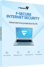 F-Secure Internet Security  2018 Per  3  COMPUTER  15 Mesi  Antivirus Fsecure