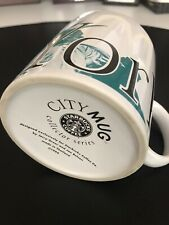 Starbucks New York Coffee Clean Cup 1994 City Mug Collector Series