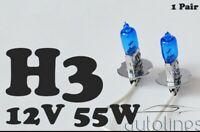 H3 12V 55W Xenon White 6000k Halogen Fog Car Headlight Lamp Globes Bulbs LED HID