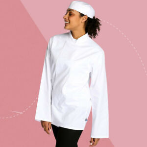"Tibard Long Sleeve Coolmax Chef Jacket CJM0193 SIZE MEDIUM CHEST 38"" - 40"""