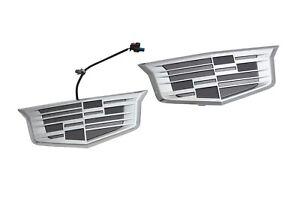 2021 Cadillac Escalade Cadillac Emblems in Monochrome Finish GM OEM NEW 84754505