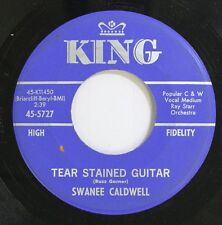 Country 45 Swanee Caldwell - Tear Stained Guitar / I Told You So On King