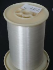 0.008 mm Clear Nylon Monofilament (#33) on Large Spool: 1.22 Lbs.