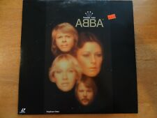 "ABBA **LASERDISC**  ""Thank You ABBA""  Made in JAPAN (POLP-1031) NTSC (c) 1994"