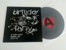 NICK CAVE / THE BIRTHDAY PARTY a fuckin' rotten business this !   /  LP