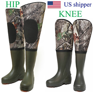 Neoprene Fishing Hunting Waders for Men with Boots 100% waterproof 5 mm neoprene