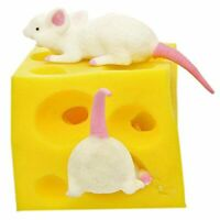 Mouse And Cheese Toy Sloth Hide And Seek Stress Relief Toy 2 Squishable Figures