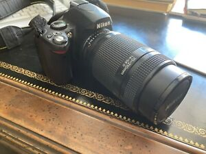 Nikon D40 Digital SLR Camera - Three lenses, Charger, Case, Tripod & More!