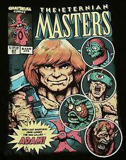"""Eternia Masters"" He-Man Orko Beast Lockjaw Merman Men's Large Shirt Teefury"