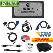 NEW INLINE 6 Data Link Adapter for Cummins RP1210 Heavy Duty Diagnostic Full Set