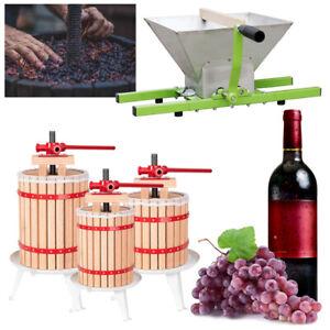 Obstpresse Saft Apfelpresse Weinpresse  Mühle Beerenpresse Maischepresse Juicer