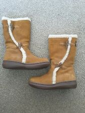 Ladies Rocket Dog Slope Mid Calf Boots. Worn Once. Size 4. Tan/brown