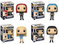 Funko POP! Television ~ ALIAS SYDNEY BRISTOW VINYL FIGURE SET ~ ALL 4! IN STOCK!