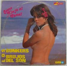 Los Bunkers / Brujos Del Son - Como Abeja Al Panal EP Latin Salsa Discos Fuentes