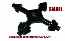 "4 Way Chuck Key Drill Press 1/4"" to 1/2"" Universal Combination Key Chuck"