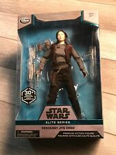 STAR WARS ELITE SERIES 10 inch Sergeant Jyn Erso Disney Store exclusive