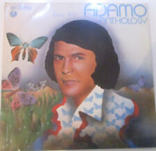 "12"" Do LP Vinyl Adamo ""Anthology"" EMI Columbia"