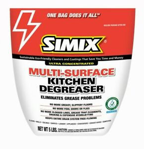 Simix Multi surface Kitchen Degreaser. cleans any surface,safe on plants