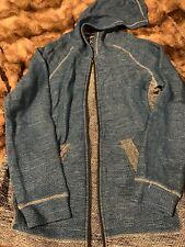Retro Fit 14/16 Boys Blue Black White Jacket Unisex