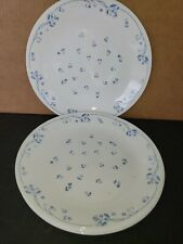 Corelle by Corning Provincial Blue Dinner Plate Dish Set of 4 Flower