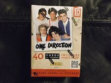 ONE DIRECTION Factory Sealed Blaster Box Panini 4 Packs 9 cards & 1 sticker each