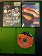 Xbox. 3 Game Bundle. NFL Fever 2002, Superman Returns, GTA Vice City. Tested.