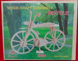Wood Craft Assembly -BICYCLE-