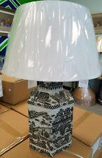 NWB Ethan Allen Spotlight Hexagon Lamp MRSP $550.00