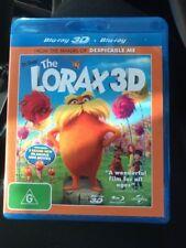 💕Dr. Seuss THE LORAX 2D & 3D Like New Blu-Ray (2 Disc) ZAC EFRON TAYLOR SWIFT💕