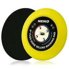 Neiko 30267A Flex-Edge Hook and Loop Backing Pad, 6-Inch | 10,000 RPM