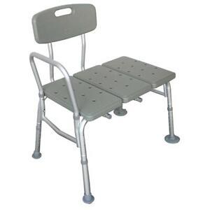 Medical Adjustable Bathroom Bath Tub Medical Shower Transfer Bench Bath Seat