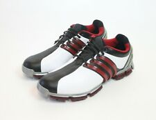 Adidas Tour 360 3.0 Golf Shoes Powerband White Black Used Size 8.5