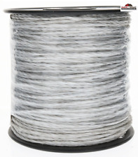 Shock 656-ft Electric Fence Poly Wire Fence Fencing Spool ~ New
