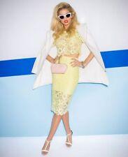 Bardot Brand Citris Savanna Lace Skirt Size 8 BNWT #ST80