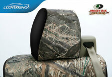 Mossy Oak Duck Blind Camo Custom Front and Rear Seat Covers for Ford F150