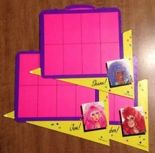 3 Jem Fashion Flash Suitcase Cards Board Game Replacement Part Shana Kimber Jem