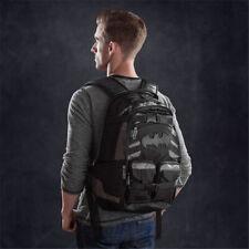 Batman Shoulder Bag Travel Backpack Laptop Bag School Book Bag Rucksack.
