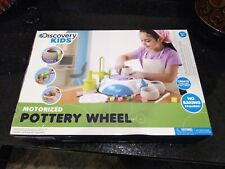 DISCOVERY KIDS MOTORIZED POTTERY WHEEL—BRAND NEW IN BOX!!