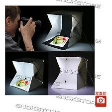 FOLDABLE PORTABLE MINI LED PHOTO STUDIO BOX PORTATILE WITH MICRO USB CABLE + LED