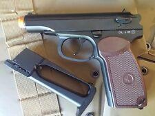 Russian Marcov PM full metal pistol gun C02 blowback action airsoft pistol