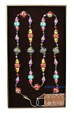 """JAY STRONGWATER COLORFUL JEWEL 70"""" FESTIVE GARLAND CHRISTMAS ORNAMENT NEW BOX"""