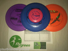 NEW FRISBEE DISC GOLF INNOVA BUILD YOUR OWN 3 PACK SET DRIVER PUTTER MID RANGE
