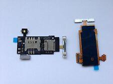 Lg Optimus l7 p700 tarjeta SIM card SD tarjeta de memoria lectores Reader LED relámpago Volume