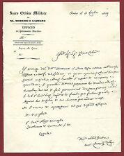 Sacro Ordine Militare de Santi Maurizio e Lazzaro - Ordine Cavalleresco 1839