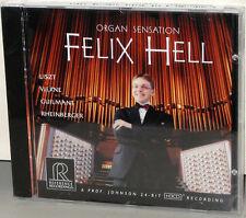 Reference Recordings CD RR-101: Felix Hell - Organ Sensation - USA 2003 SEALED