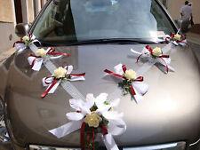 Autoschmuck, Autogirlande creme-bourdoux, Hochzeit neu