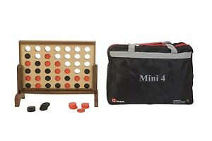 New Mini 4 Tabletop Indoor Disc Game Coins And Stand - Connect 4 Coins In A Row