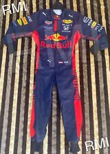 F1 Racing MAX 2020 Style RedBull Printed Suit Go Kart/Karting Race/Racing Suit